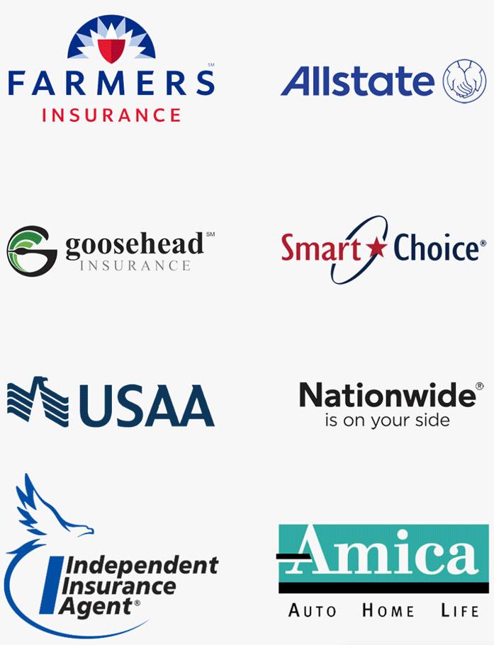 recamp insurance logos mobile